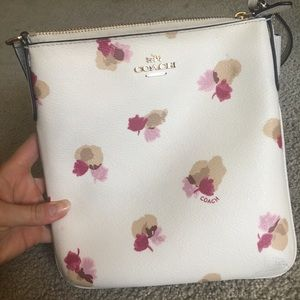 Coach Floral Shoulder Bag